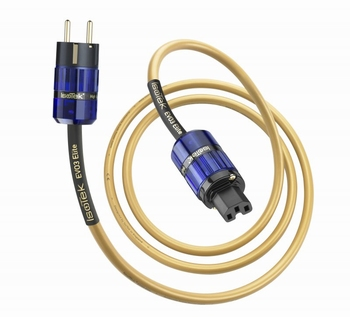 ISOTEK Elite cable, 2,0mtr, EU connector  per piece