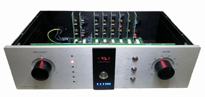 ELTIM P3280 Preamplifier with 6 inputs, 2 outputs