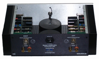 ELTIM A3300HRQ Dual Mono Power Amplifier