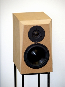 ELTIM E620, 2-way bookshelf/stand speaker  per pair
