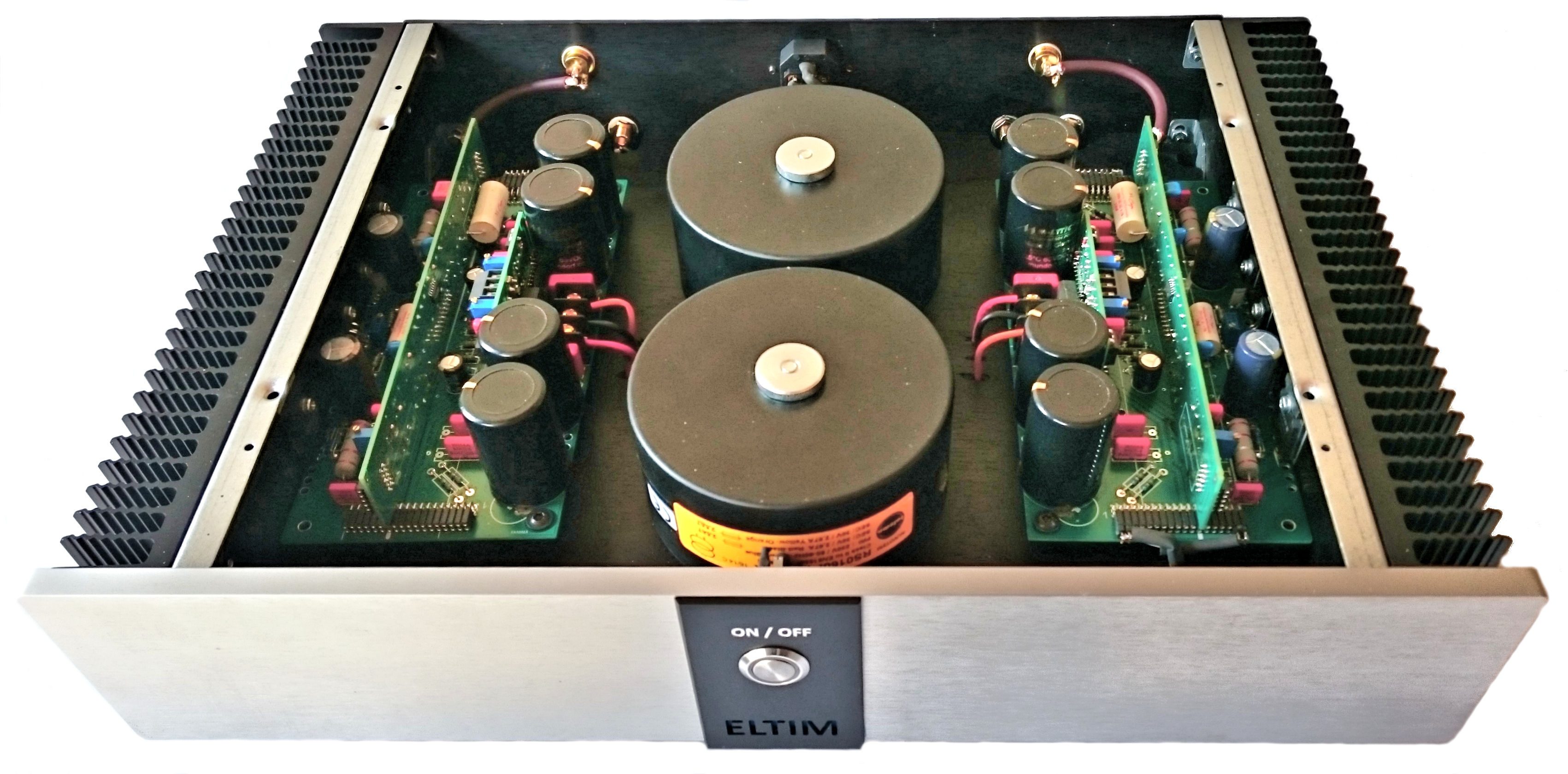 ELTIM High End  Power Amplifiers